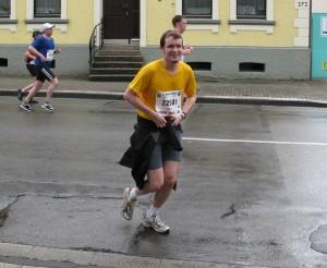 Karstadt Halbmarathon 2009, Kilometer 13