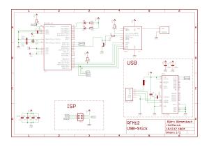 RFM12Stick Schaltplan
