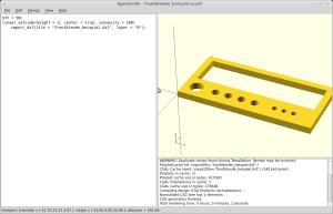 Screenshot OpenSCAD