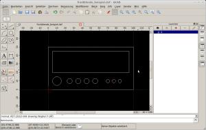 Screenshot QCAD
